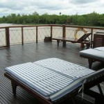 Sundeck of Bassac cruise