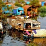 Tonle Sap Lake floating villages 3