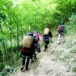 trekking to local villages sapa