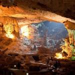 Amazing caves Halong