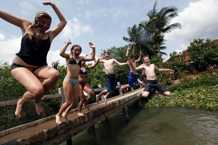 An Binh Island - Mekong Delta
