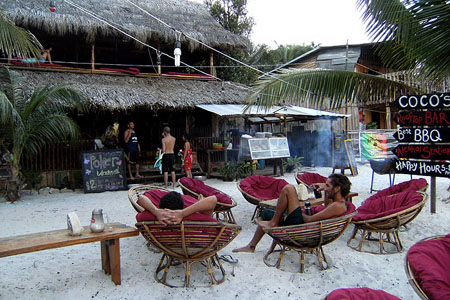 BBQ on the Sihanoukville Beach