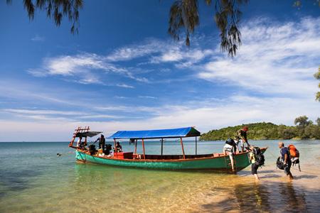 Bamboo island Cambodia