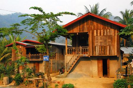 Ban Thapene villages