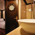 Bathroom in Deluxe Cabin