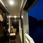 Bhaya Cruise cabin balcony