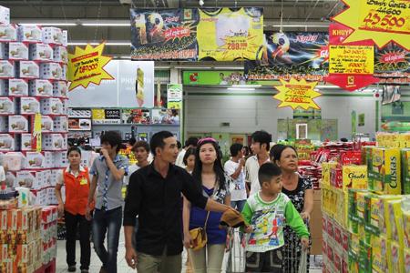 BigC Supermarket in Hanoi