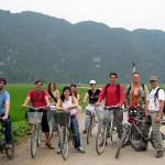 Biking in Tam Coc - Ninh Binh