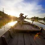 Boat Trip Along Thu Bon River