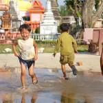 Children in Angkor Ban village