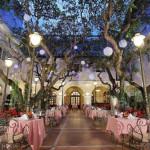 Continental Hotel Saigon - Continental Patio Night time