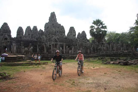 Cycling Around Angkor Wat