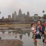 Family in Angkor
