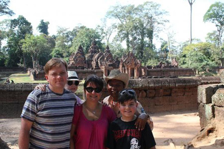 Family Tour - Angkor Wat