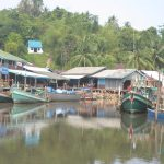 Fishing village in Koh Kong