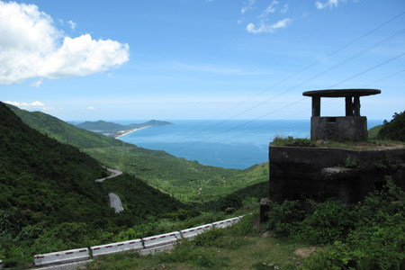 Hai Van Pass ocean view