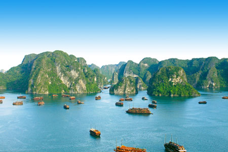 Halong Bay from Titop Island