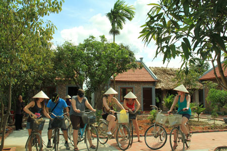 Homestay in Dong Trieu village