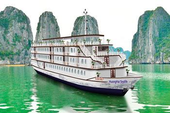 Huong Hai Junk Cruise Halong – 3 Days