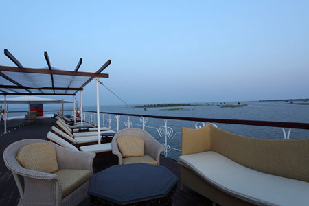 Jayavarman Cruise - Sundeck