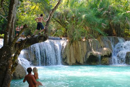 Khouangsi Waterfalls
