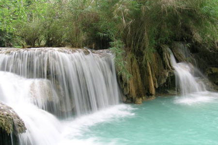 Khouangsi Waterfalls