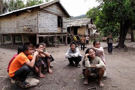 Lao Loum village