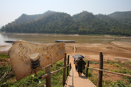 Leaving Ban Xang Hai Village and off to Pak Ou Cave