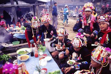 Muang Sing market