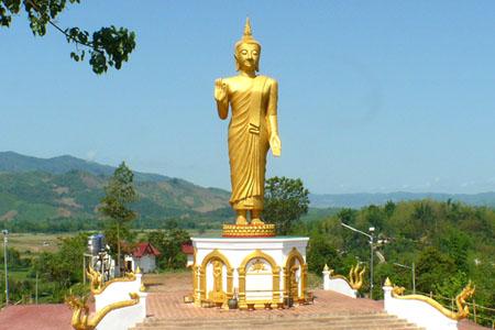 New Buddha Statue Oudomxay