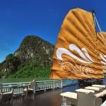 Paradise Junk cruise - Sundeck