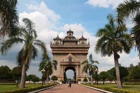 Patuxai Vientiane City