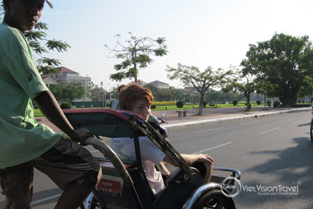 Phnom Penh by cyclo