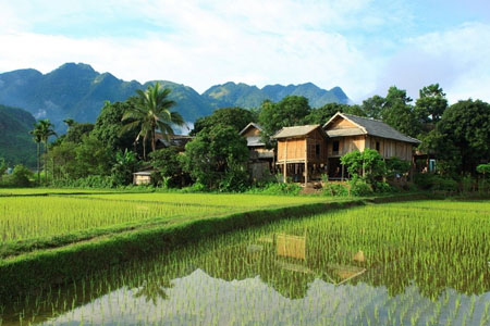 Pong Coong village