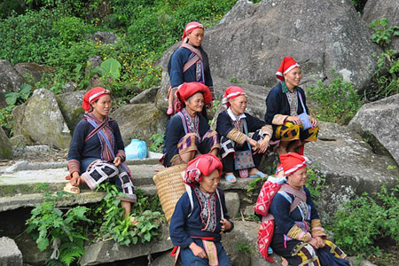 Red Dao Ethnic - Ta Trung Ho village