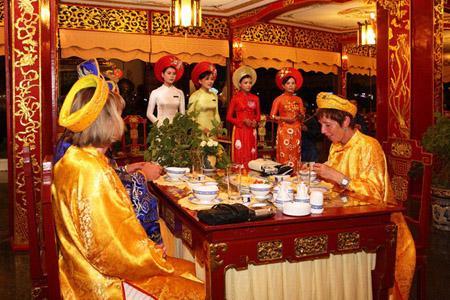Royal restaurant in Hue