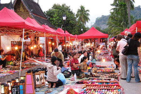 Shopping in Luang Prabang