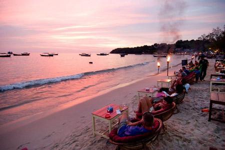 Relax at Sihanoukville Beach Cambodia