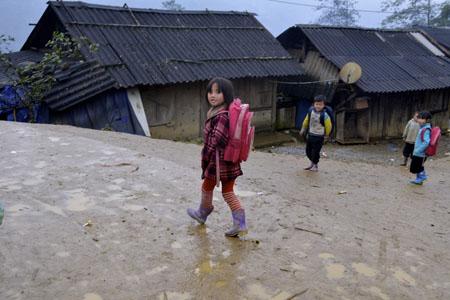 Small School in the village of Sin Chai