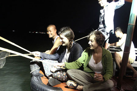 Squid Fishing - Vietnam Tours,