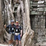 Teachers in Ta Prohm Temple