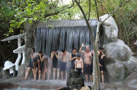 Thap Ba hot mud bath spring