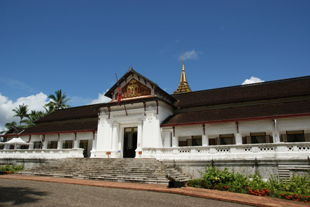 The Royal Palace in Luang Prabang