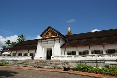 The Royal Palace in Luang Prabang