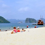 Titop Beach in Halong