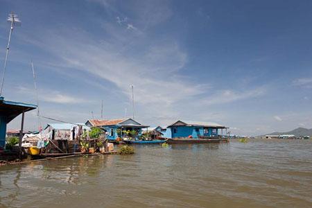 Tonle River to Kampong Chhnang