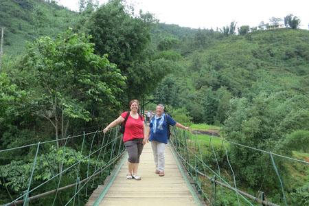 Trekking in Lac Village