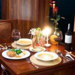 Valentine Cabin Dinning room