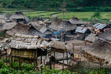 Village in Luang Namtha