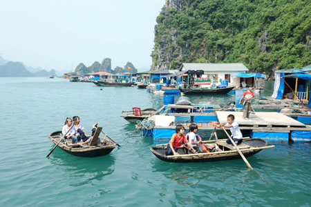 Vong Vieng fishing village